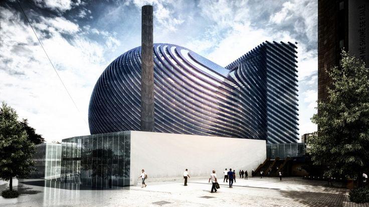 The Wall Dome (Solar Powered Mosque) | Paolo Venturella Architecture | Kosovo | DesignDaily | Designs Everyday!