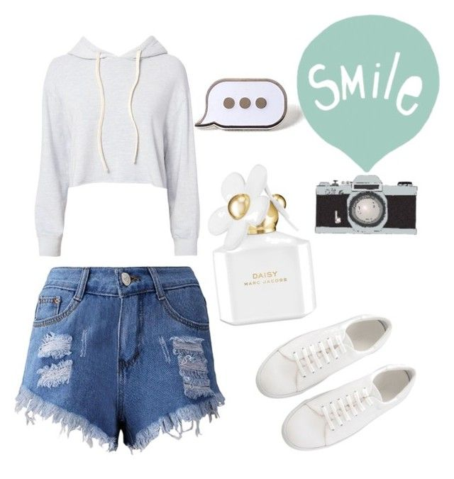 """""""Untitled #50"""" by ssimuhina on Polyvore featuring Monrow, PINTRILL, Marc Jacobs and Seventy Tree"""
