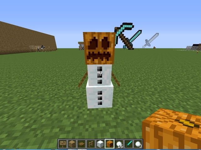 95 best images about student created minecraft tutorials - Minecraft golem de diamant ...