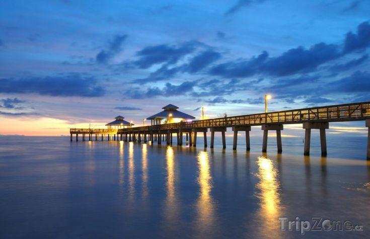 Fort Myers, západ slunce (Florida)