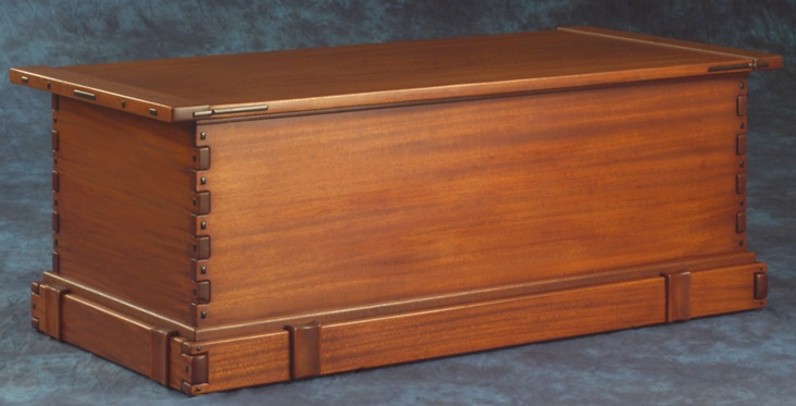 Wood Blanket Chest ~ Fine woodworking blanket chest projects plans
