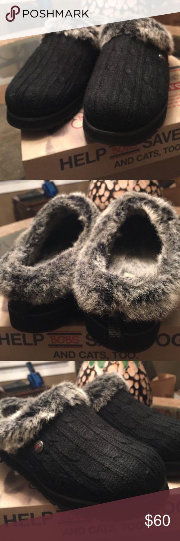 Fax fur Skechers Beautiful bob's from sketchers plus foam slippers/shoes bran new bobs skechers Shoes Slippers