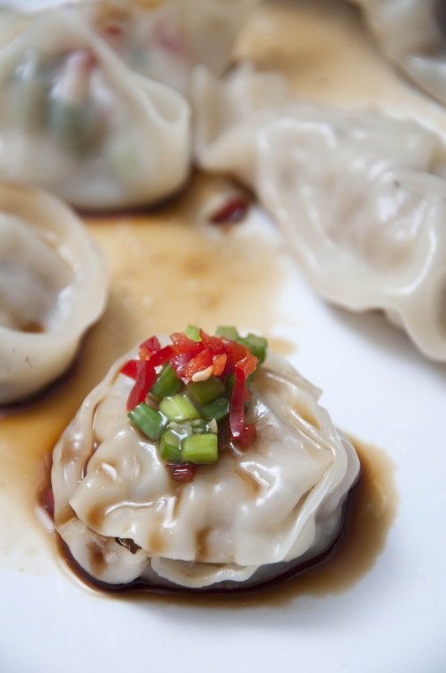 Grettie and Ami's Pork and Ginger Dumplings | .hungry student food