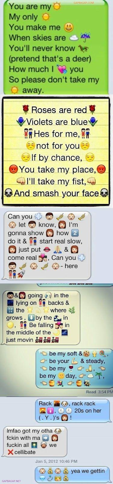 Top 10 Hilarious Emoji Conversations