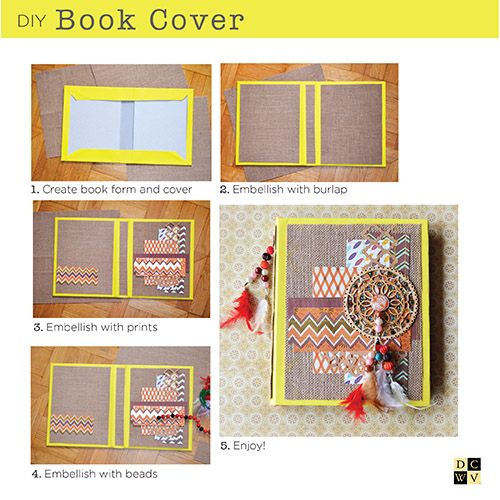 Fun book cover project from @lastochka720; head to your local @HobbyLobby to get started!