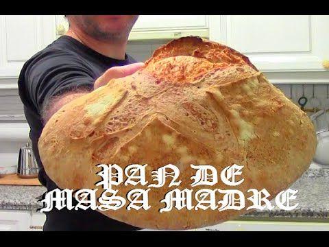 Pan casero de Masa Madre # Receta 5 # Cacho TMY - YouTube