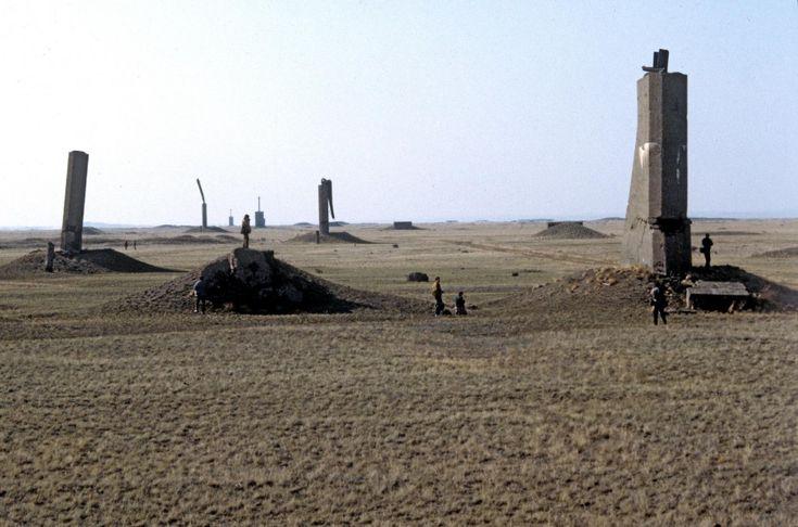 Az első szovjet atombomba-kísérlet helyszíne a kazahsztáni Szemej, az egykori Szemipalatyinszk mellett