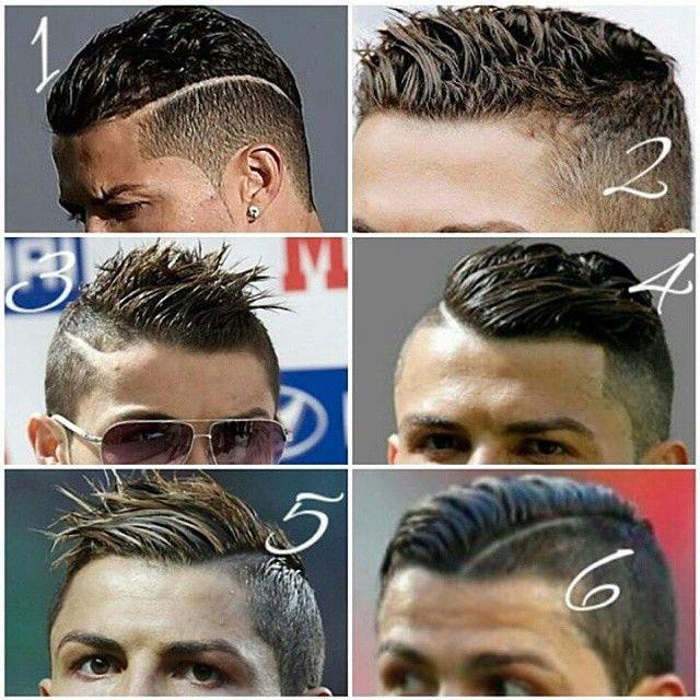 6 coupes de cheveux de Ronaldo