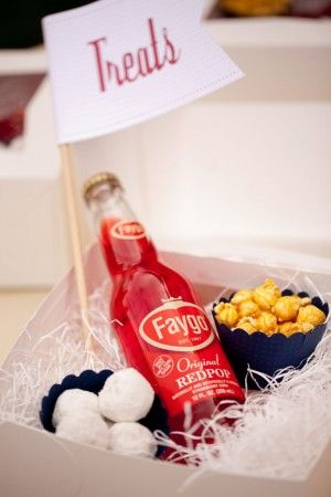 favor, welcome bag, or late night snack for guests,  kids