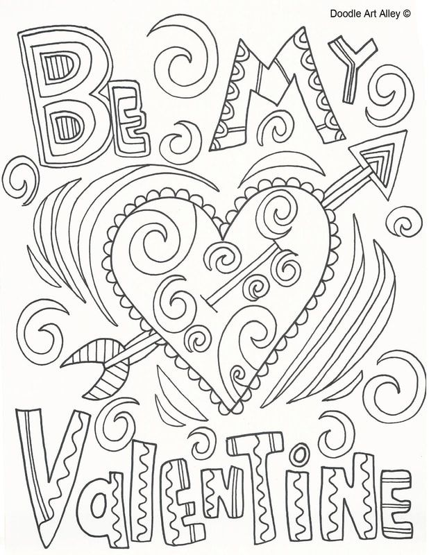 Picture Valentine Coloring Pages Valentine Coloring Valentines Day Coloring Page