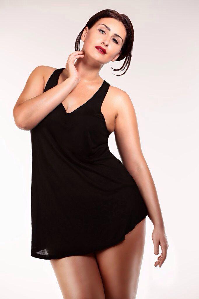 Plussize model Mila Repina Photo by Helga Charina Mua by Elena Uspenskaya