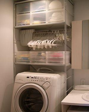Giá đựng đồ trên máy giặt