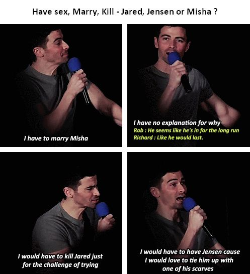 [gifset] Matt at #HousCon15 - wouldn't we all Matt, also wouldn't we have you too Matt! Meow...uh huh