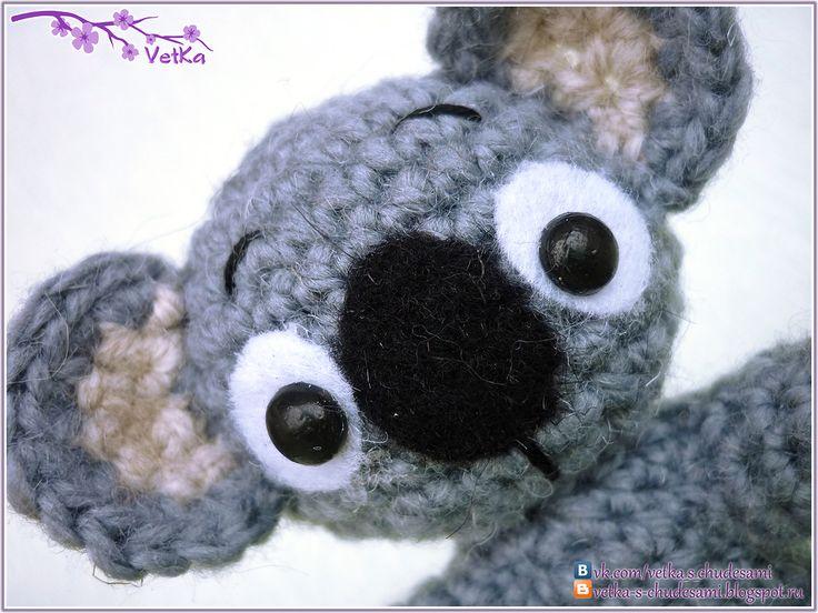 Free Amigurumi Koala Pattern : Editor s inspiration koala crochet pattern by stacey trock