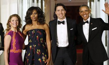 White House Pulls Out All The Stops For State Dinner With Justin Trudeau