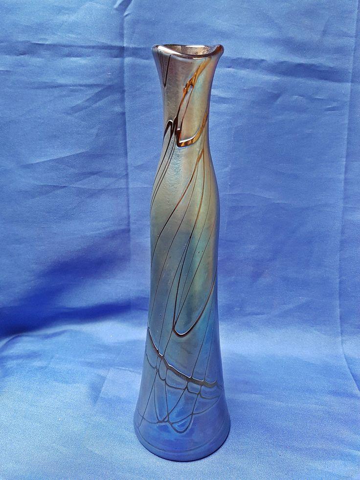 Pallme König & Habel, Witwe Loetz, Kralik, Jugendstil Glas Vase, um 1900 - 1910 | Antiquitäten & Kunst, Design & Stil, 1890-1919, Jugendstil | eBay!