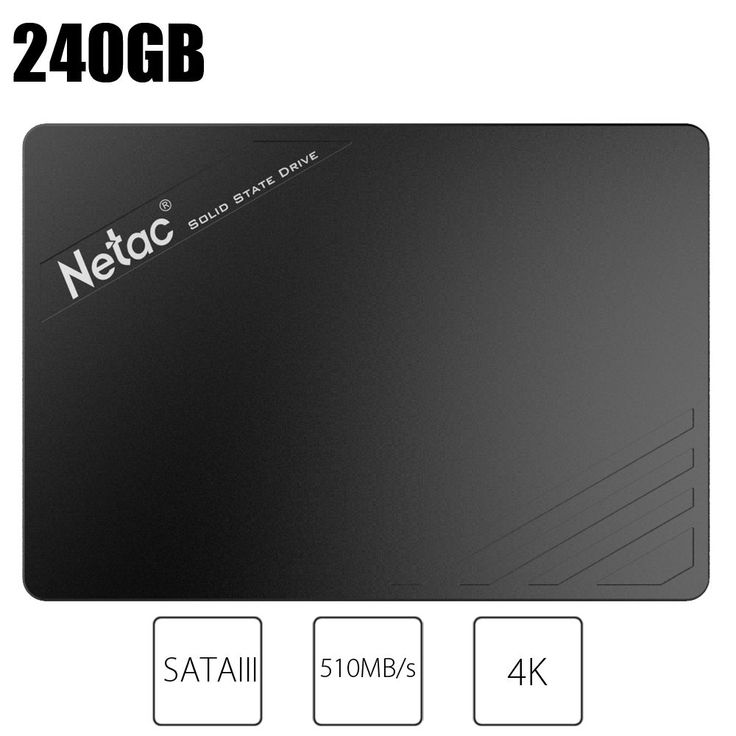 Netac N530S 120GB / 240GB SATAIII SSD 2.5 inch SATA 6Gb/s Interface Internal Solid State Disk faster than HD Hard Drive Disk HDD //Price: $65.51//     #shop
