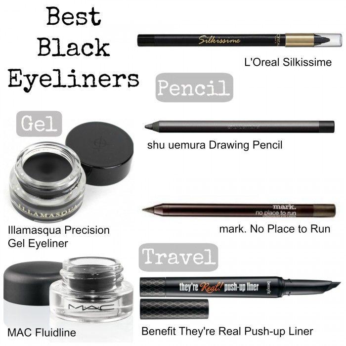 The Best Black Eyeliners | Makeup Wars - Perilously Pale