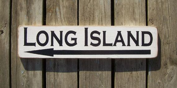 BEACH sign Long Island sign painted BEACH sign by RelativelyStable, $24.99