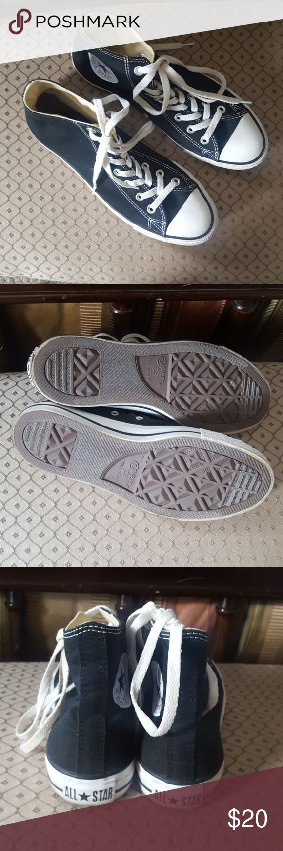 Converse Classics Great condition. 10 women's 8 men's. Bundle to save! Converse Shoes Sneakers