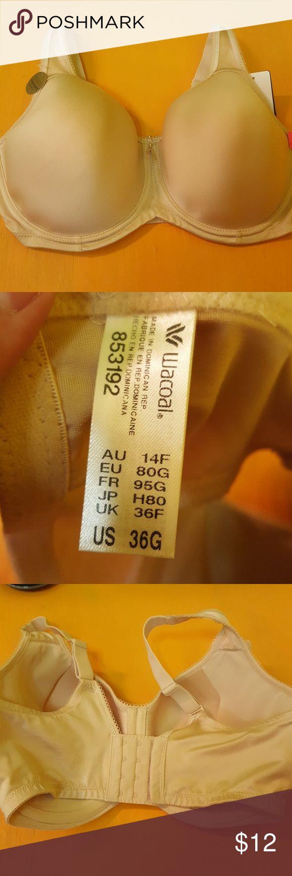 NWT Women's Wacoal bra 36 G tan New with tags Wacoal bra size 36G Wacoal Intimates & Sleepwear Bras