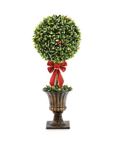 Home Accents® 32-in. Topiary Potted Tree with Bow