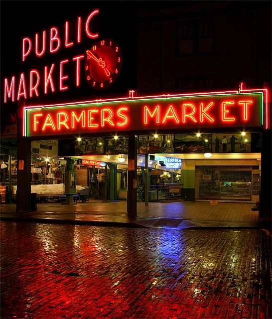 Pikes Market in Seattle