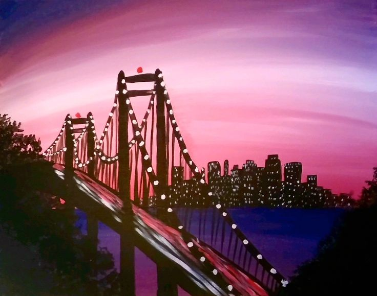 Best 25 bridge painting ideas on pinterest south for Painting events near me