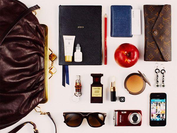 {in my handbag   the editors of vogue australia during fashion week}