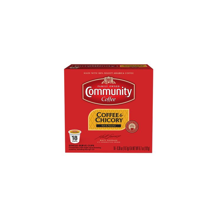 Community Coffee New Orleans Blend Coffee - K-Cup Pods - 18ct