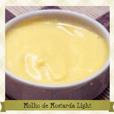 Molho de Mostarda Light e sem Glúten - Receita completa em: http://cozinhandosemgluten.com.br/recipes/molho-de-mostarda-light-e-sem-gluten/