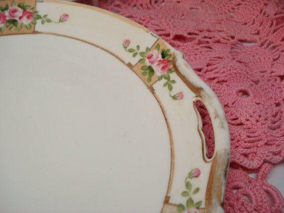 Vintage Wedding Dinner Plates Nippon by CottageGardenVintage