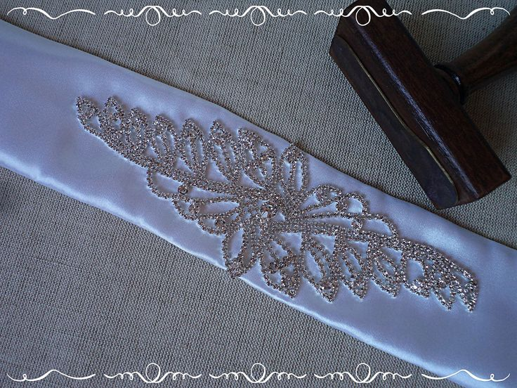 Wedding belt, bridal belt, sash belt with rhinestones by FonixDecoration on Etsy