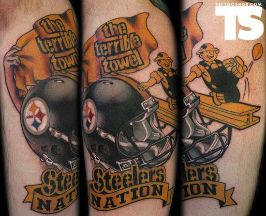 17 Best images about Steelers Tattoos. on Pinterest ...