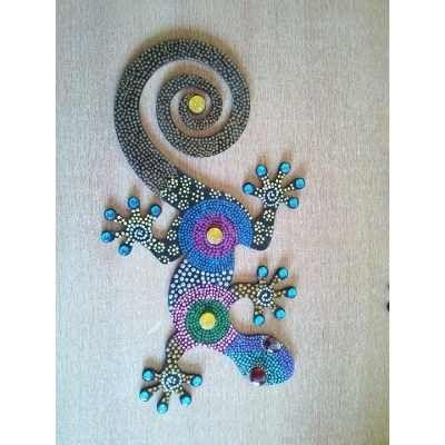 mariposas en carton piedra pintadas - Buscar con Google