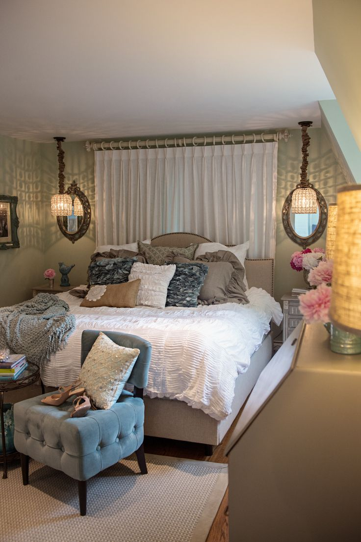 If there's anyone who's able to find the silver lining amongst chaos it's our dear friend Beth Chapman. When an old oak tree all but destroyed their former bedroom during Hurricane Sandy a few years ago, Beth took the opportunity to create her dream bedroom (one she had been planning in her mind for years).…