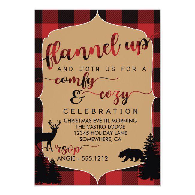 Holiday Party Invitation Zazzle Com Holiday Party Invitations Christmas Party Invitations Holiday Party Themes