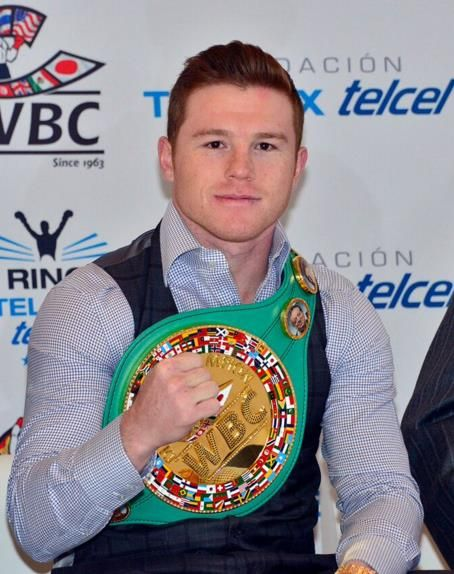 CANELO ALVAREZ PRESENTED WITH THE WBC MIDDLEWEIGHT WORLD CHAMPIONSHIP BELT   Photographs below, Photo Credit: Alma Montiel – World Boxing Council & Eztel Espinoza – Golden Boy Promo…