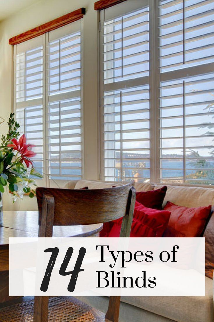 14 Different Types Of Blinds For 2020 Extensive Buying Guide