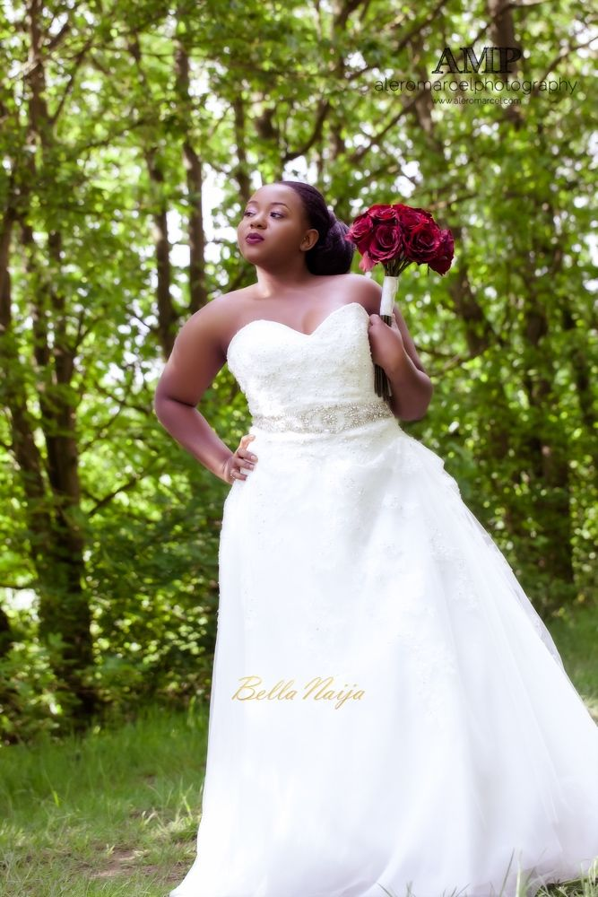 Berry Curvy Bridal Inspiration_Plus Size Black Bride_BellaNaija Weddings June 2016_Wedding shoot-31-4