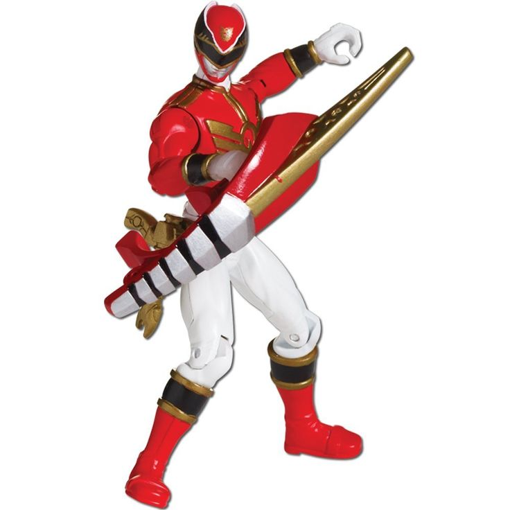 Power Rangers Megaforce Action Figure (Red): Amazon.co.uk: Toys & Games