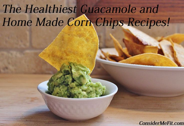 Celebrate Cinco de Mayo with this tasty recipe for home made Guacamole and Tortilla Chips!   http://www.considermefit.com/2014/01/31/home-made-guacamole-tortilla-chips/