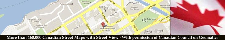 Street map of St Marys River Drive in City of Sault Ste. Marie, Ontario, Canada