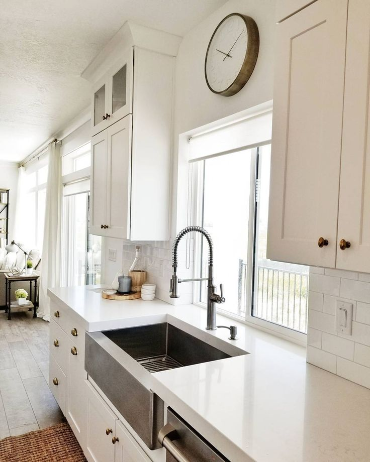Upgrade Your Countertops And Cabinets This Spring: Best 25+ White Counters Ideas Only On Pinterest