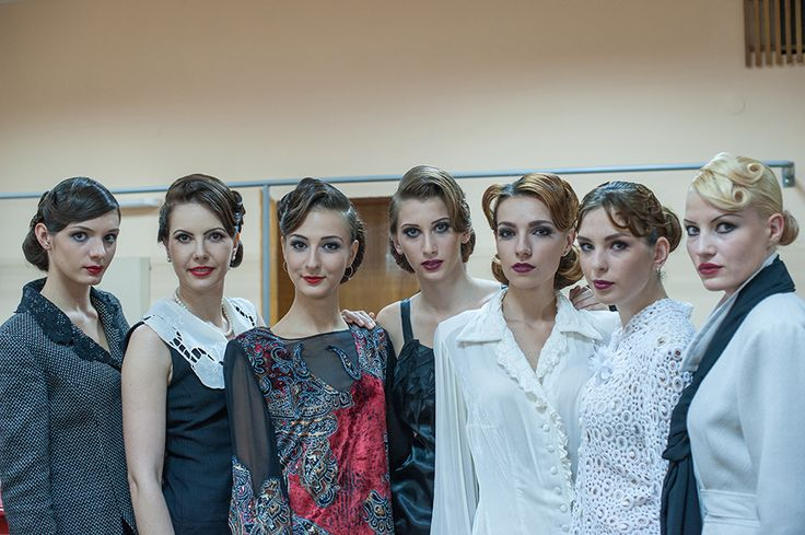 "RAISSSHRAMM.Backstage at a fashion show collections "" Шлейф времен"""