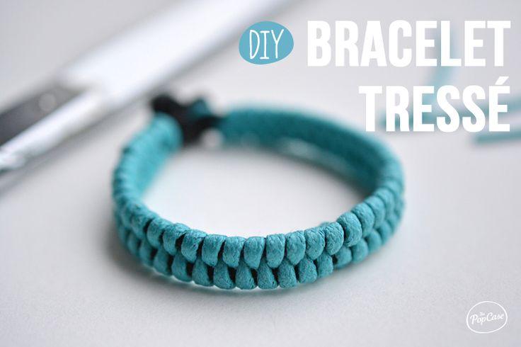 DIY - Bracelet Tressé