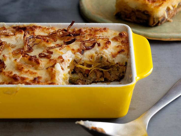 Vegetarian Shepherd's Pie from CookingChannelTV.com British Food