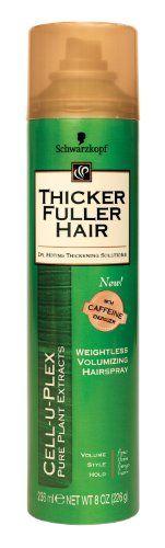nice Thicker Fuller Hair Weightless Volumizing Hair Spray - 8 oz