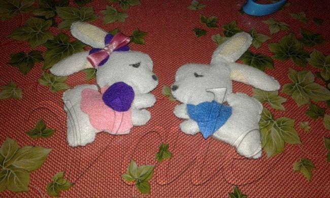 Piccolini coniglietti  - della categoria Altri Hobby dall'album di Vale22.