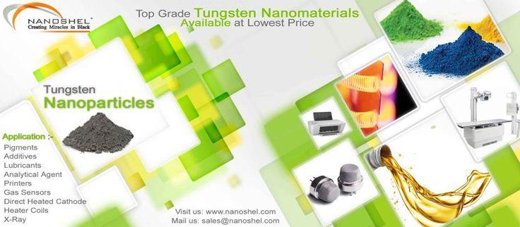 Tungsten Oxide Nanoparticles